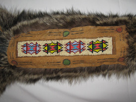Native American Craft Fur Pouch