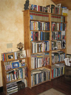 Juniper book & display shelves