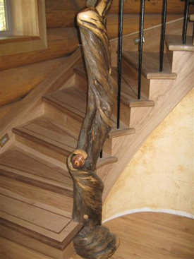 Juniper Sculpture Railing